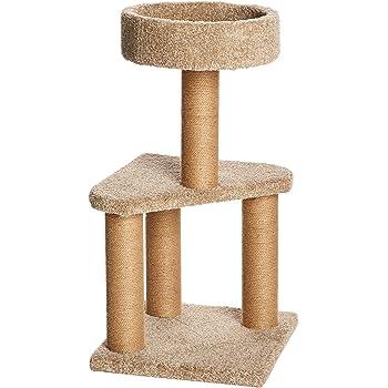 AmazonBasics Cat Activity Tree with Scratching Posts