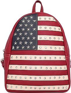 Montana West Women's American Studded Collection Wallet/Crossbody Handbags, Concealed Handgun Tote/Messenger