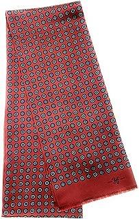 Hickey Freeman 100% Silk Pattern Scarf