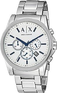 Armani Exchange Men's AX2510  Silver Quartz Watch