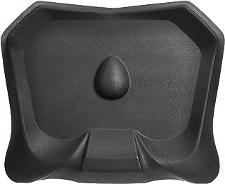 AmazonCommercial Tapis anti-fatigue non-plat, pour bureaux debout, avec relief pour massage de la voûte plantaire (Noir), ...