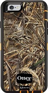 OtterBox DEFENDER iPhone 6/6s Case - Retail Packaging - REALTREE MAX 5 (BLAZE ORANGE/BLACK/MAX 5 DESIGN)