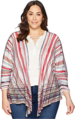 Plus Size Painted Desert Cardy