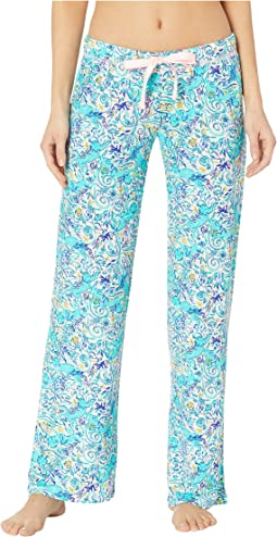 a185f0f6e9e7d0 Lilly pulitzer pajama pants multi shell of a time | Shipped Free at ...