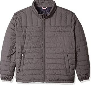 Tommy Hilfiger Men's Big and Tall Packable Down Jacket