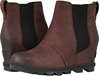 Amazon.com  Wedge - Ankle   Bootie   Boots  Clothing 6195f843692