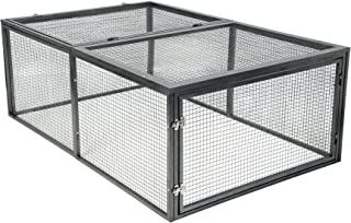 SummerHawk Ranch Small Animal Enclosure (20 sq ft.), 3-YEAR Warranty, Safe, Durable & Sized for Healthy Chicken Keeping, Chicken Coop Extension, Rabbit Cage, Small Pet Cage