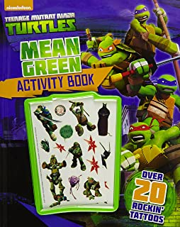 Nickelodeon Teenage Mutant Ninja Turtles Mean Green Activity Book Paperback by Parragon Books Ltd