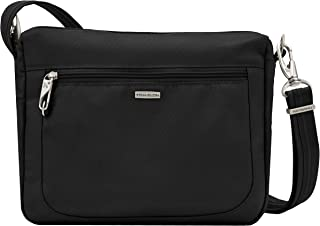 Anti-Theft Classic Small E/w Crossbody Bag, Black