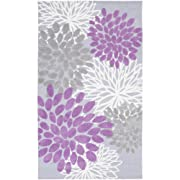 Sanora Lavender and Gray Transitional Area Rug 3'3  x 5'3
