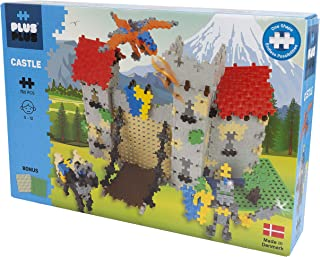 PLUS PLUS – Riddarborg - 760 bitar – Byggklossar, Bygga, Utvecklande leksaker för barn, STEM, STEAM, Producerat i Danmark