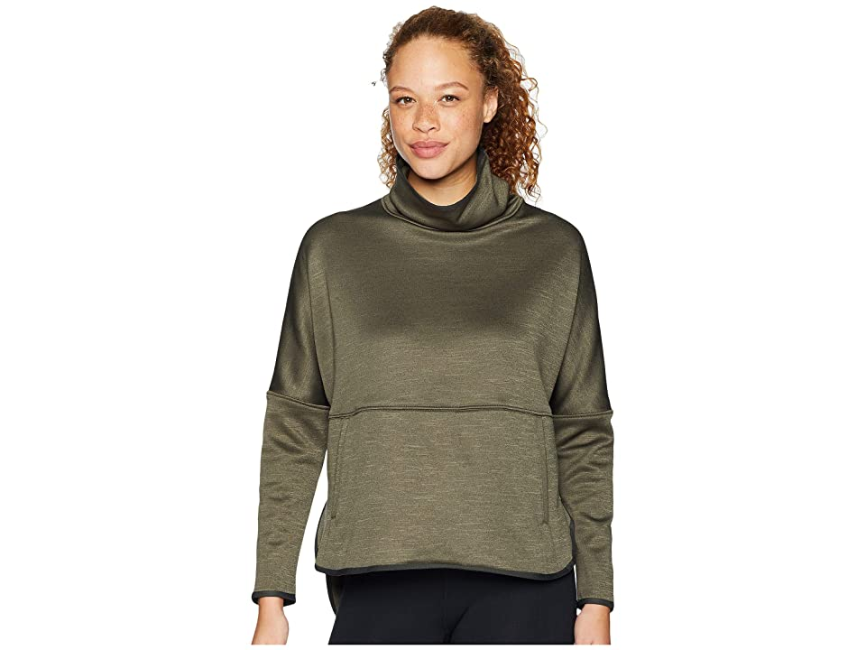 The North Face Cozy Slacker Poncho (New Taupe Green Heather) Women