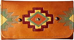 American West - Adobe Allure Trifold Wallet