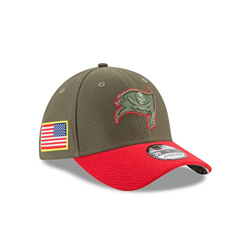 Tampa Bay Buccaneers New Era 2017 Salute To Service 39THIRTY Flex Hat –  Olive df3f34affea4