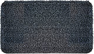 "GrassWorx 10376714 Clean Machine High Traffic Astroturf Dirt Trapper Doormat, 23.5""x35.5"", Charcoal Gray"