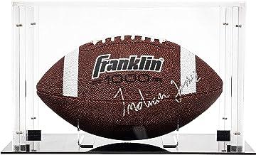 Franklin Sports Display Case – Memorabilia – UV Protected – Sport Collectibles - Baseball - Batting Gloves - Basketball - ...