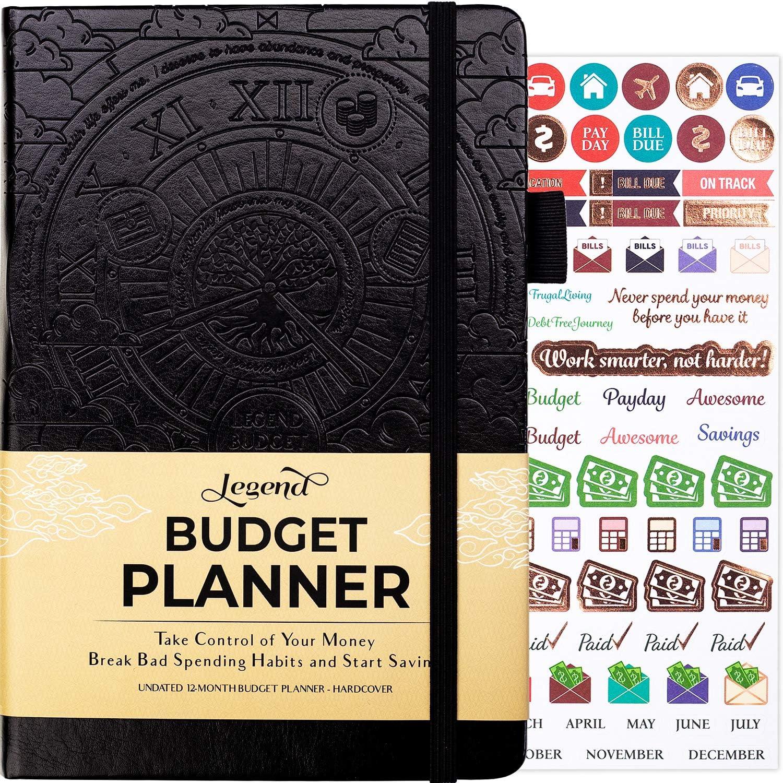 Legend Budget Popular Spasm price products Planner – Financial Organizer Deluxe