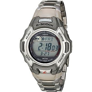 Casio Men's G-Shock MTGM900DA-8CR Tough Solar Atomic Stainless Steel Sport Watch