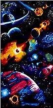 Timeless Treasures Solar System Bright Solar System 24'' Panel Fabric, Midnight