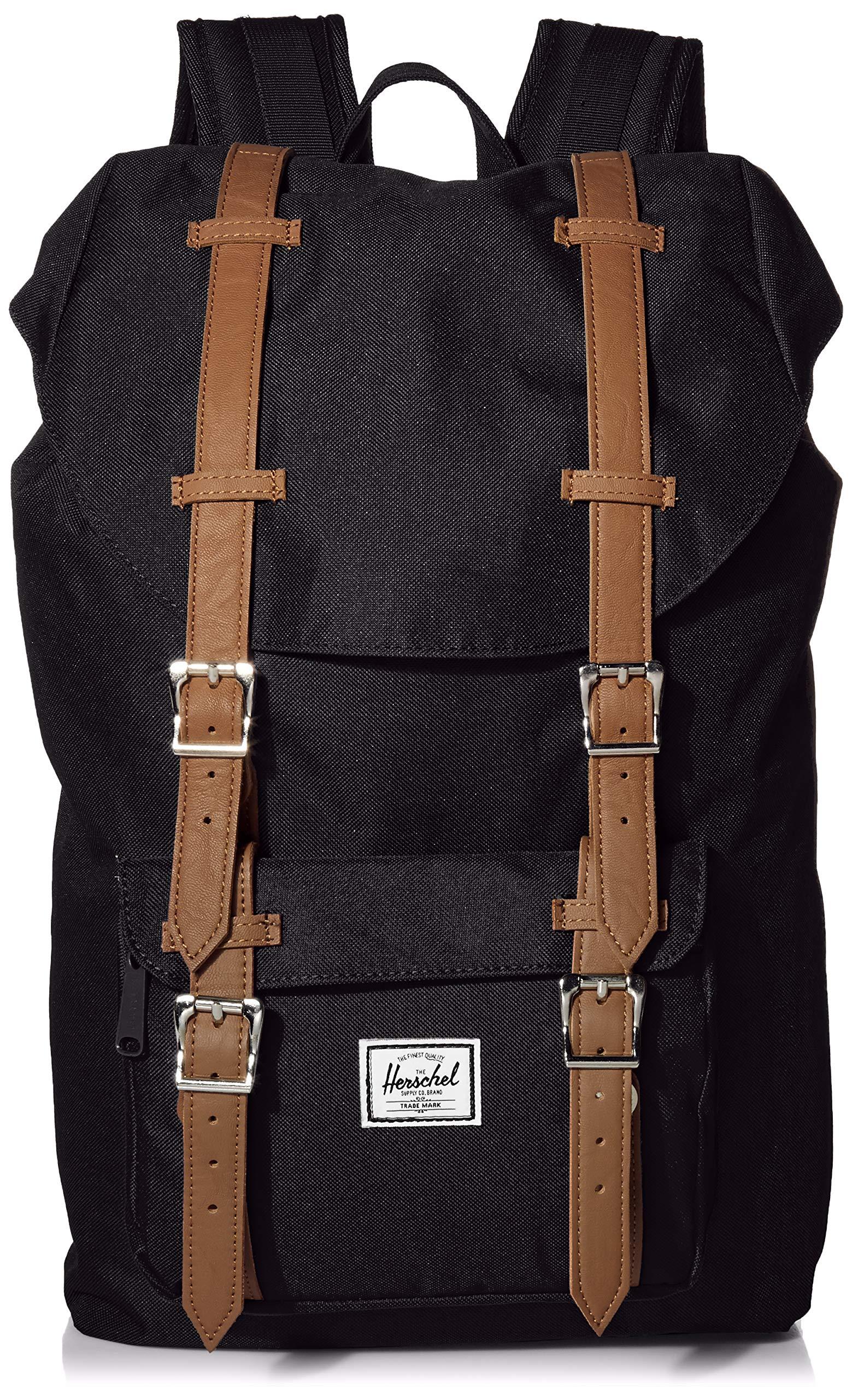 Herschel Little America Mid Volume Backpack Black