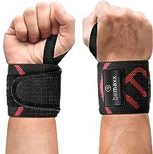 Wrist Wraps Pols Polsbrace Fitness Crossfit Krachttraining Bodybuilding - 2x Polsbanden, Polssteun voor zware gewichten, h...