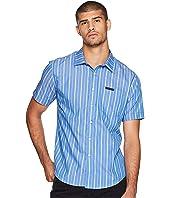 Short Sleeve Yarn-Dye Stripe Shirt