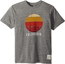 California Sunset Short Sleeve Tri-Blend Tee (Big Kids)