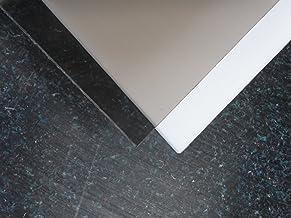 8,0/mm Lexan/® Plaque polycarbonate massif Tableau Format 1250/x 680/mm Transparent//Incolore//Transparent