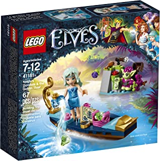 LEGO Elves Naida's Gondola & The Goblin Thief 41181 Building Kit (67 Pieces)