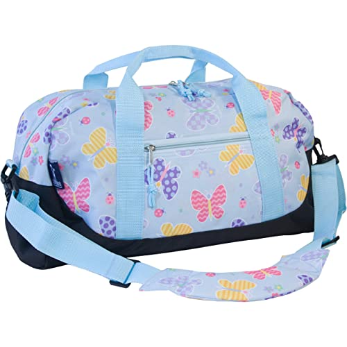 9e815eca439b Duffle Bag with Butterflies: Amazon.com