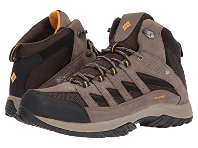 Columbia Crestwood Mid Waterproof (Cordovan/Squash) Men