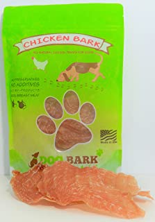 Chicken Bark - Voted Best Chicken Treat Available to Dogs, Portion of All Proceeds Donated to Dogs in Need, 100% Sourced & Made USA, As Natural As It Gets - 1 Ingredient!