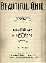 Beautiful Ohio Song (Sheet music)
