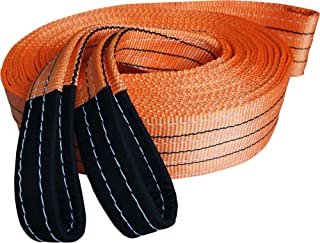 Titan Auto Heavy Duty Recovery Strap | for Off-Road Recovery and Towing (3.5