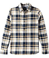 Vans Kids - Banfield II Long Sleeve Flannel (Big Kids)