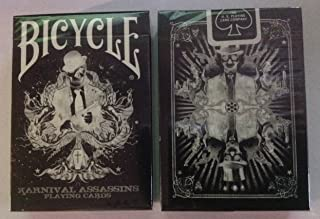 Karnival Bicycle Reverse Assassins Playing Cards