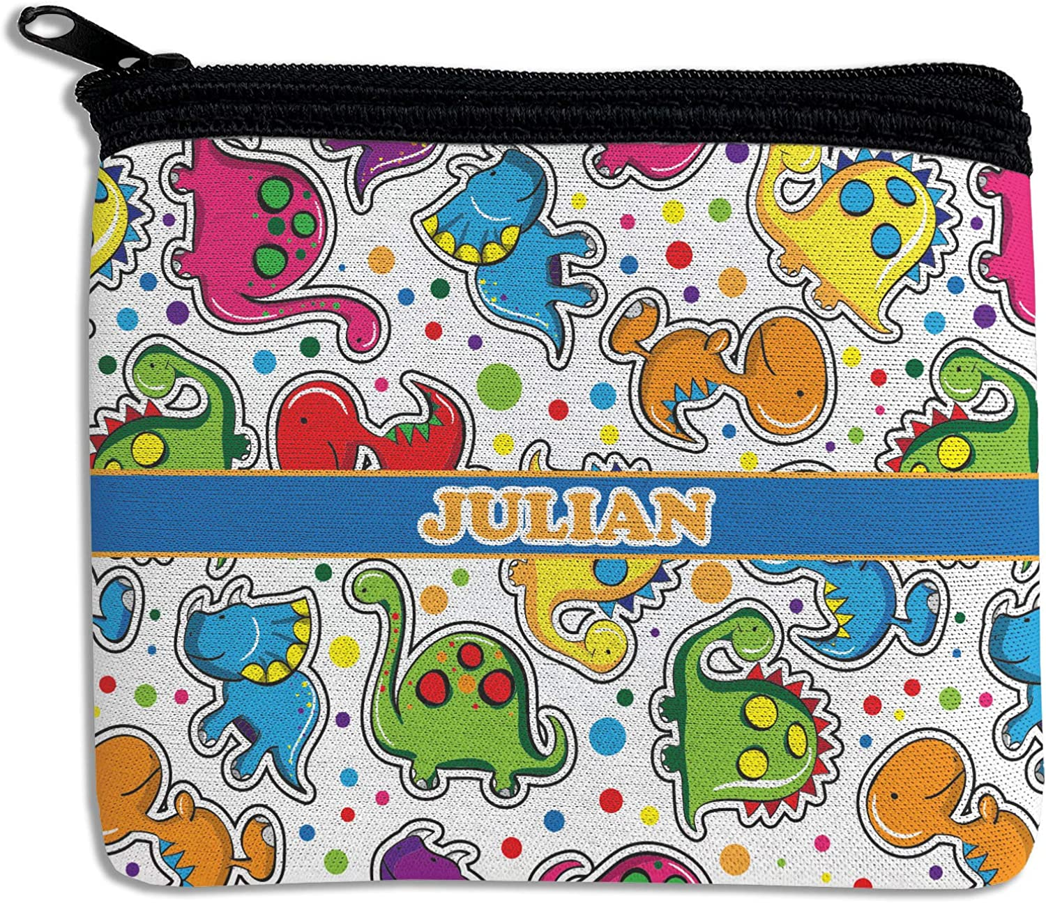 New mail order Dinosaur Print Rectangular Purse Cheap sale Personalized Coin