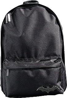 GIFPAL185 - Mochila de poliéster negro (PVC, poliéster, negro, resistente, unisex, bolsillo frontal, China)