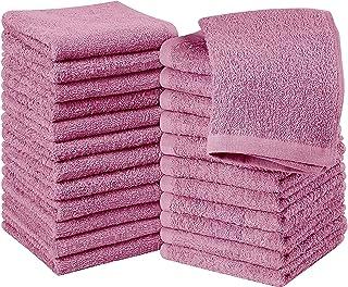 "Simpli-Magic Cotton Towels, 12""x12"", Pink 24 Count"