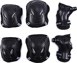 Selighting Protecciones Patines Niños Rodilleras Skate Set Proteccion Protector de Muneca Coderas y Muñequeras Infantiles para Patinaje Ciclismo Monopatín Escalada Esqui