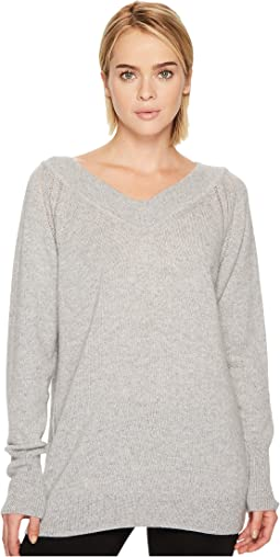 BELSTAFF - Skylar 100% Cashmere V-Neck Sweater