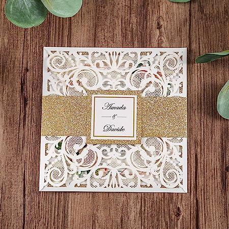 Loose Script Calligraphy Envelope Invitation Black Bridal Shower Gold White Graduation Wedding Metallic Lettering Silver