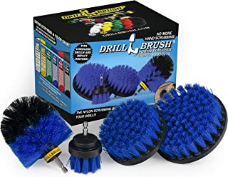 Drillbrush Swimming Pool Accessories - Drill Brush Power Scrubber Kit - Pool Brush for Vinyl Liners - Hot Tubs and Spas Ja...