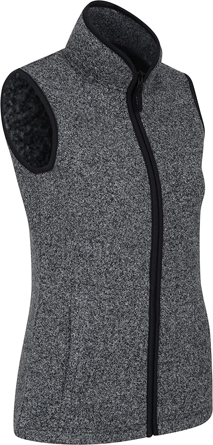 Perfect for Cold /& Wet Weather Mountain Warehouse Idris Womens Gilet Spring Vest Soft Touch Micro Fleece Lightweight Quick Drying