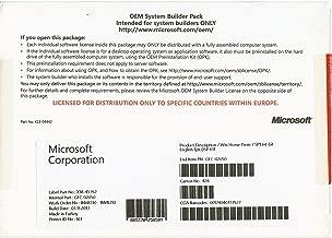 Windows 7 Home Premium SP1 64bit (OEM) System Builder DVD 1 Pack [Old Packaging]