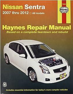 Haynes 72052 Nissan SENTRA, 07-'12