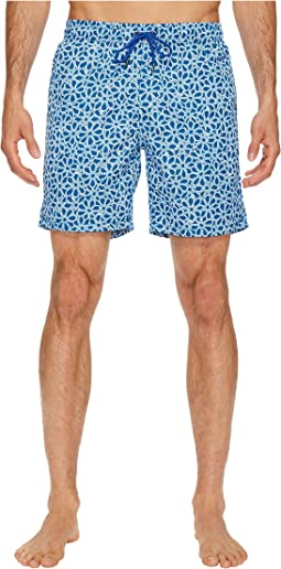 Mr. Swim - Floral Printed Dale Swim Trunk