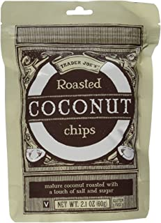 Trader Joe's Roasted Coconut Chips (4 Pack)