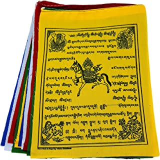 Wind Horse Tibetan Prayer Flags from Nepal Set of 10 Flags