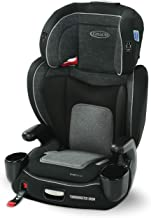 Graco TurboBooster Grow High Back Booster Seat, Featuring RightGuide Seat Belt Trainer, West Point
